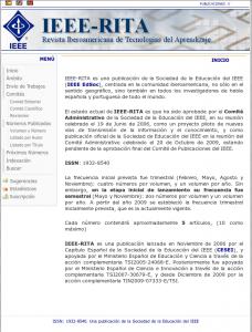 IEEE-RITA (SCOPUS)